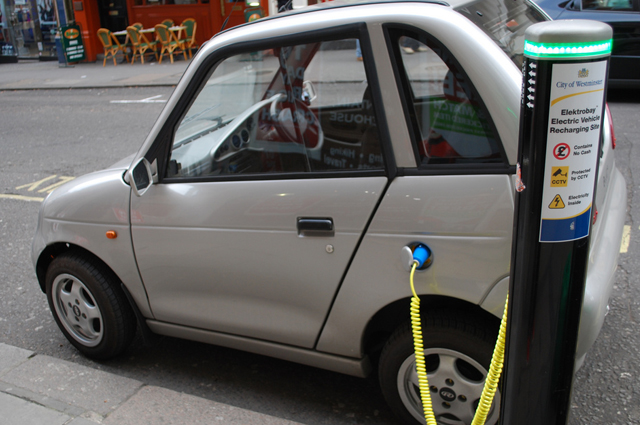 Aumenta la matriculación de vehículos verdes en España