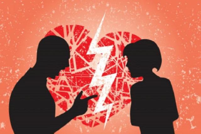 Discusiones de pareja al volante