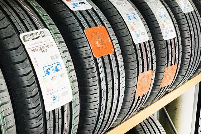 ¿Qué es la etiqueta de un neumático?