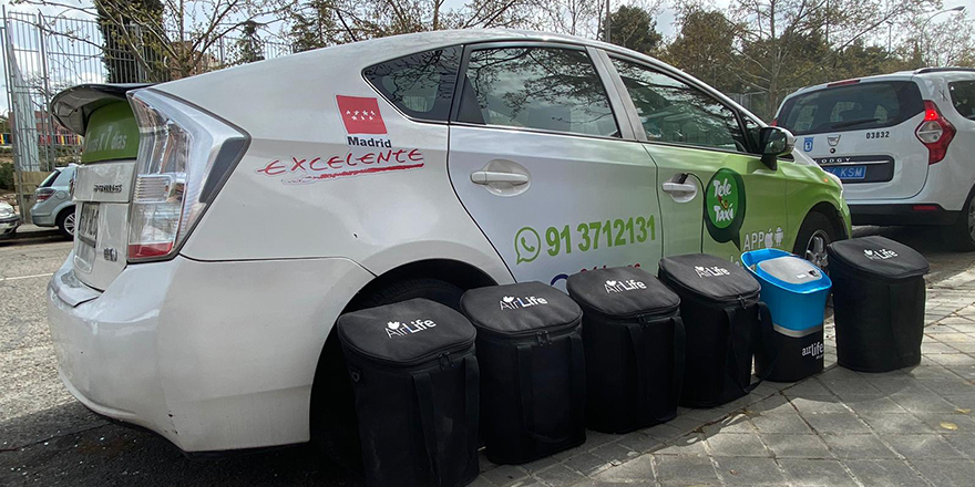 Midas y Airlife ofrecen sus servicios de higienización y desinfección de vehículos a la Federación Profesional del Taxi de Madrid en apoyo a la emergencia sanitaria por el COVID-19